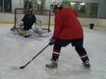 quick hockey shots