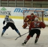 Junior hockey action